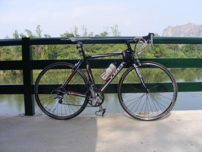 Kanchanaburi by bicycle with Michael Davis 2009